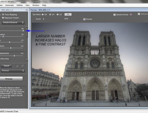 HDR Tutorial – how to remove halos in Photomatix