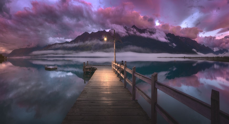 epic glenorchy jetty sunrise1