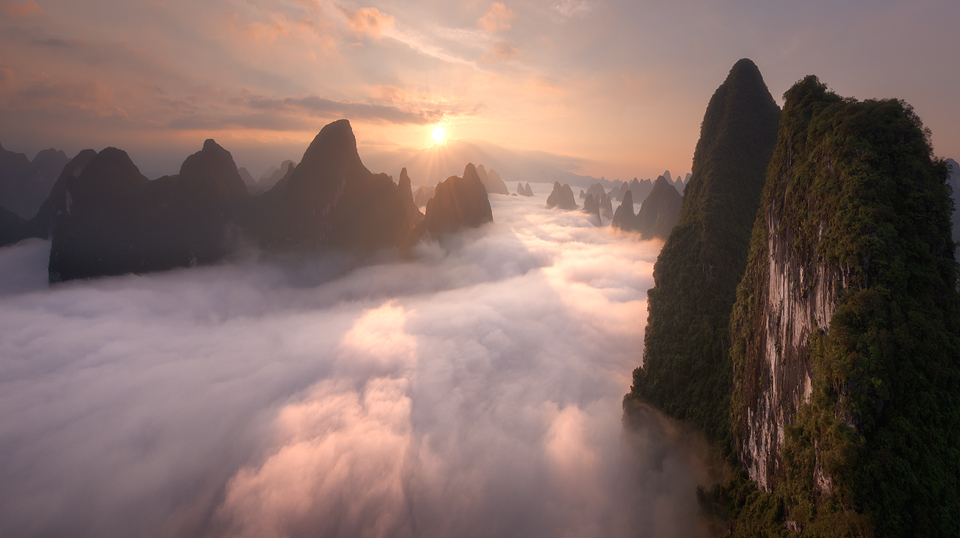 guilin fog at sunrise 21