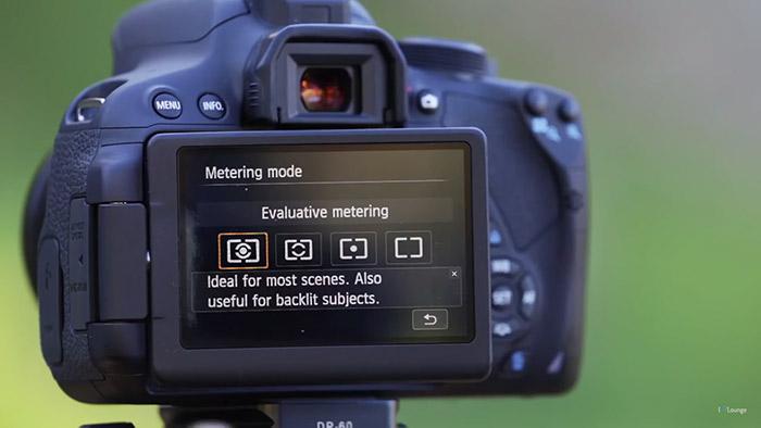 spot metering