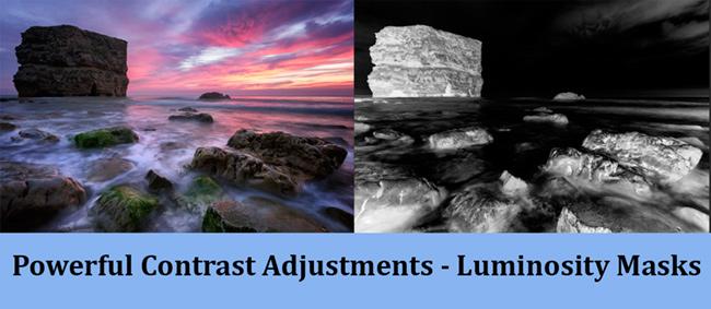 Luminosity masks tutorial – specific contrast adjustments.