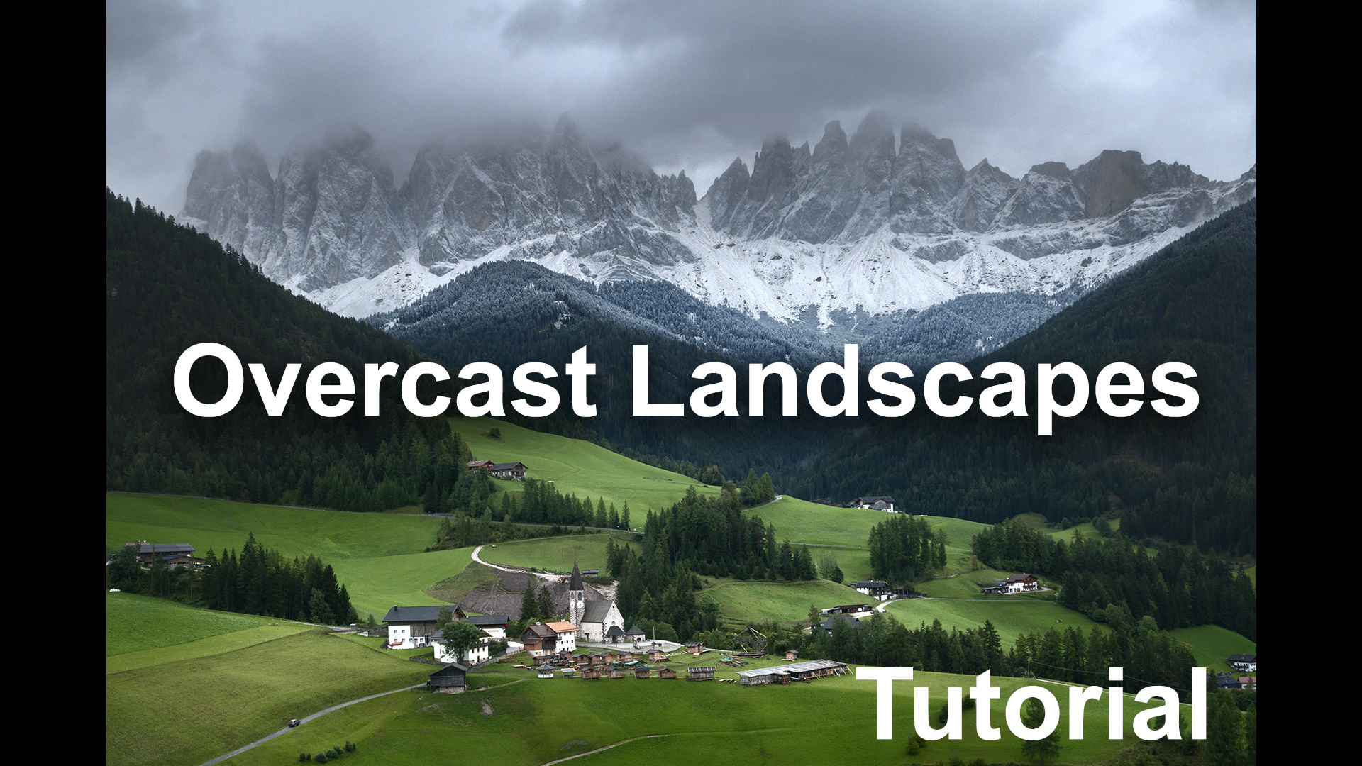 Tutorial – Overcast Landscapes Don't Have to Be Boring