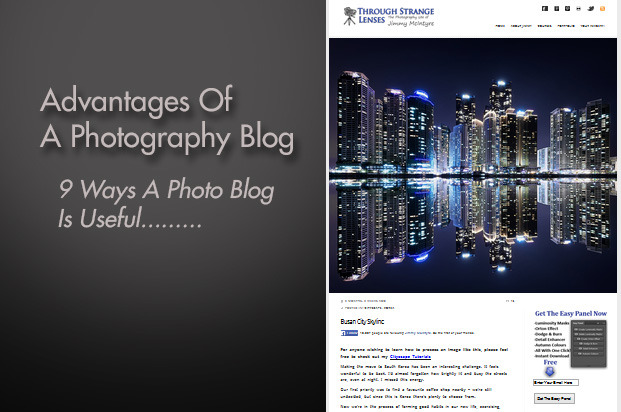 Advantages Of Having A Photography Blog