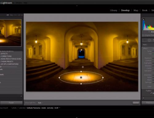 How to relight an image in Lightroom