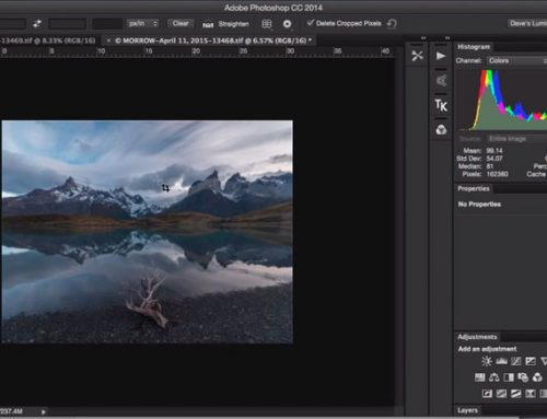 Perspective & Panoramic Blending for Landscape Photography
