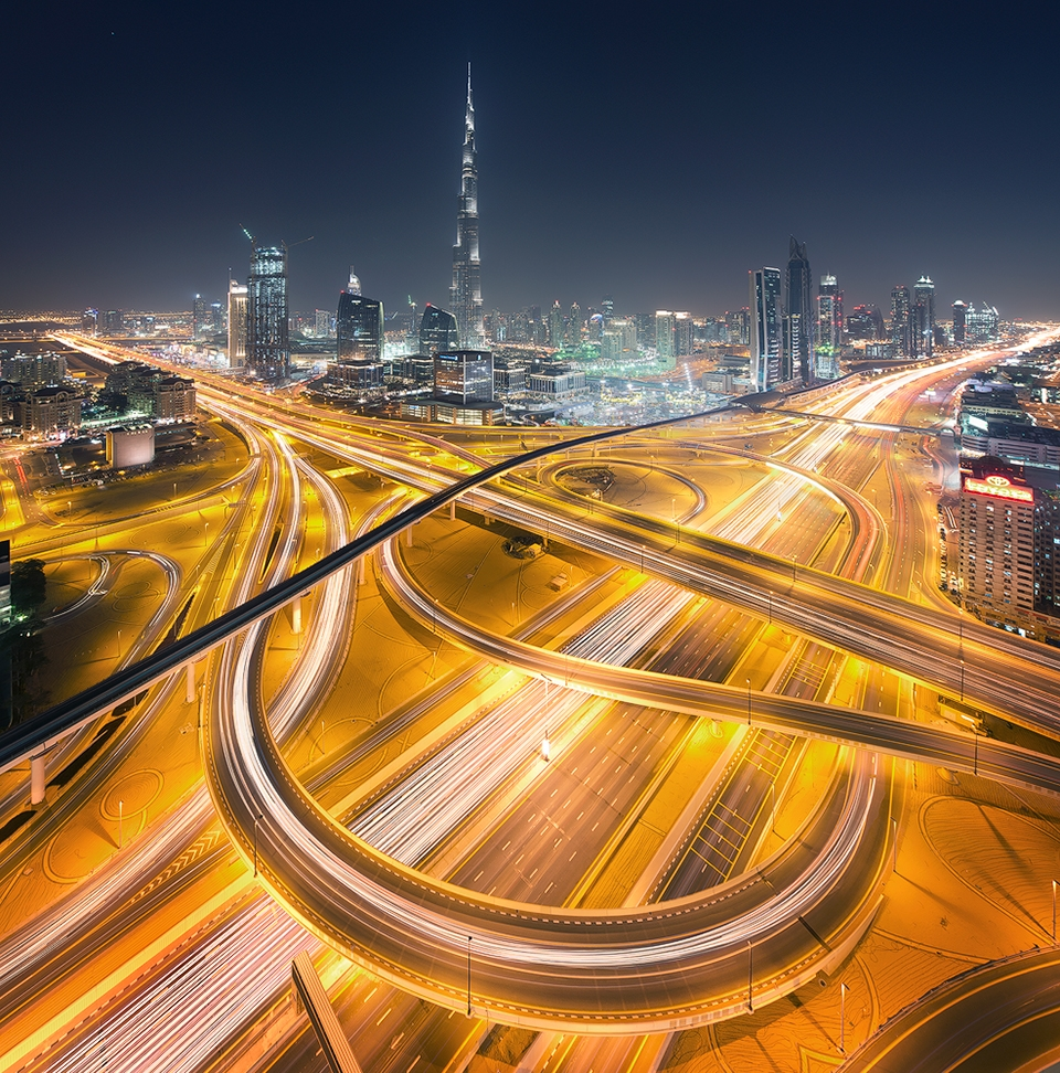 dubai-junction-light-trails-burj-kalifa17