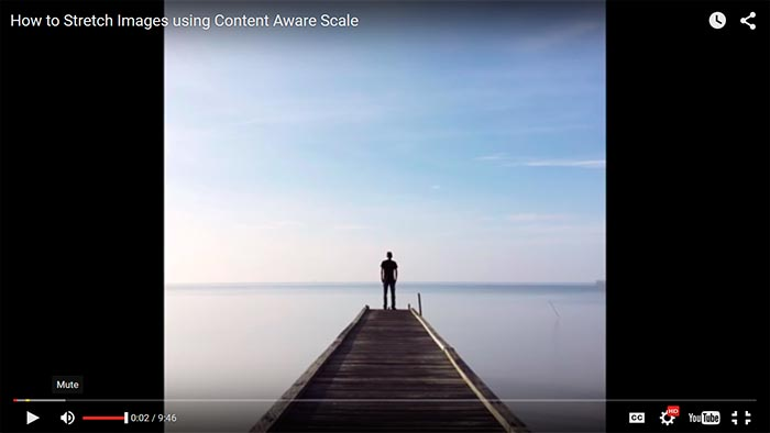 How To Stretch Images Using Content Aware Scale