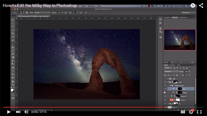 How to Edit the Milky Way in Photoshop