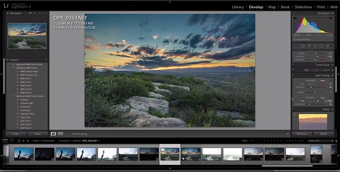 Recover Under Exposed Image – Landscape Photography RAW Editing Tutorial