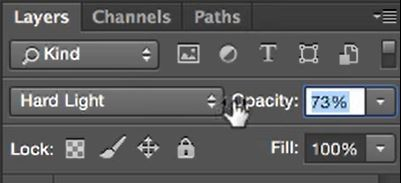 filter layer opacity