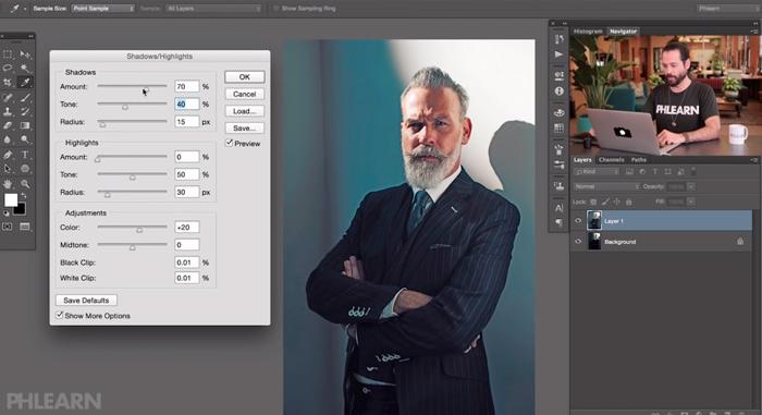 How To Fix Dark Shadows in Photoshop