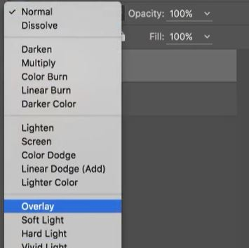 overlay blend mode