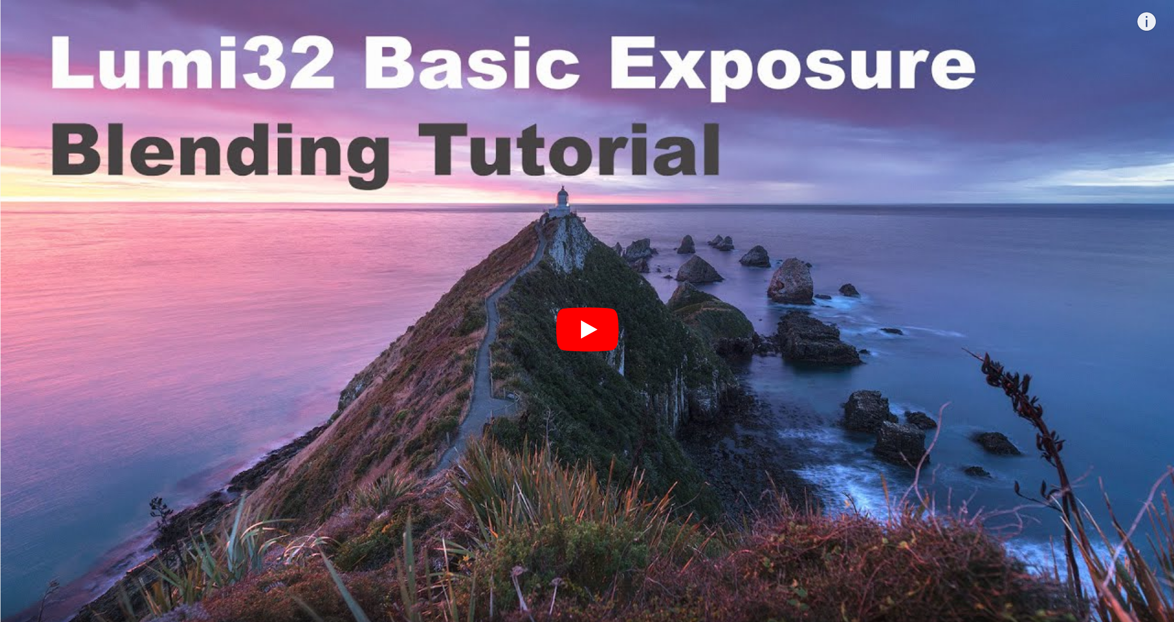 Lum32 Basic Exposure Blending Tutorial