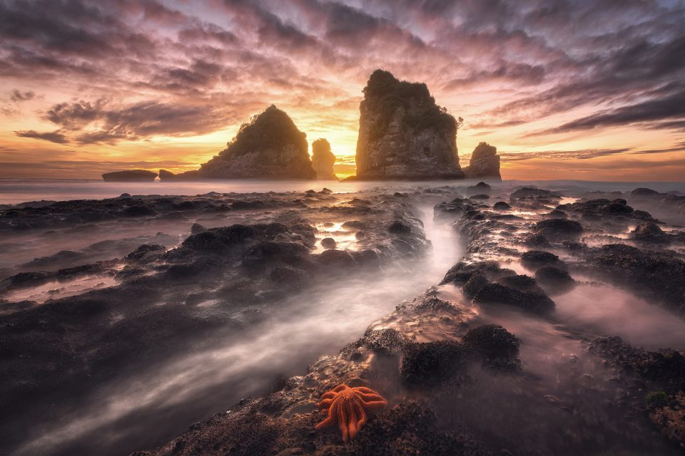 seascape edited with luminosity masks