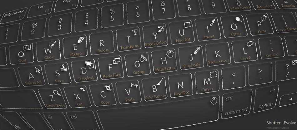 Adobe Photoshop Keyboard Shortcuts