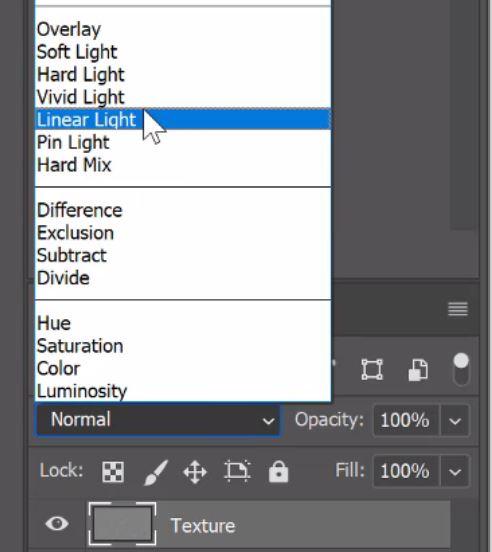 linear light blend mode
