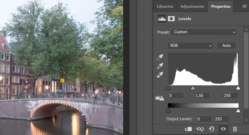 soft tone in photoshop