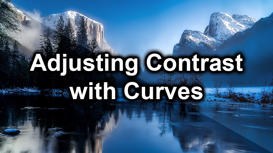 Adjusting Contrast using Curves