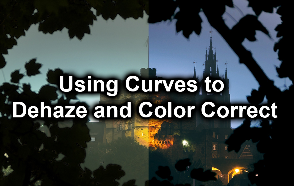 Dehaze and colour correct in photoshop