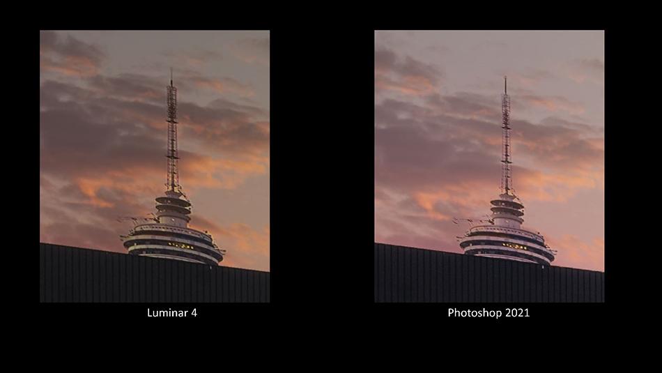 Luminar VS Photoshop