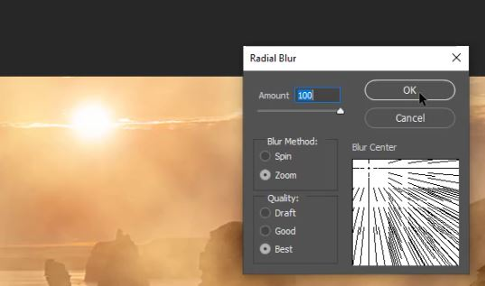 Making Realistic Sun Rays in Photoshop