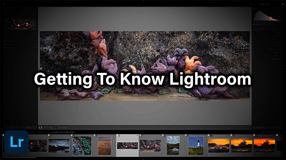 Getting To Know Lightroom