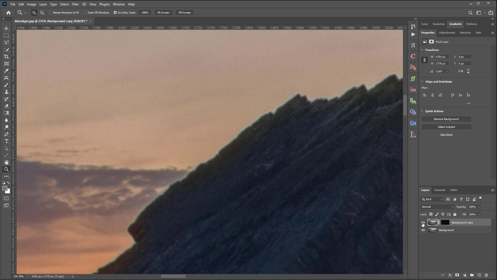 How to Blur Edges in Photoshop