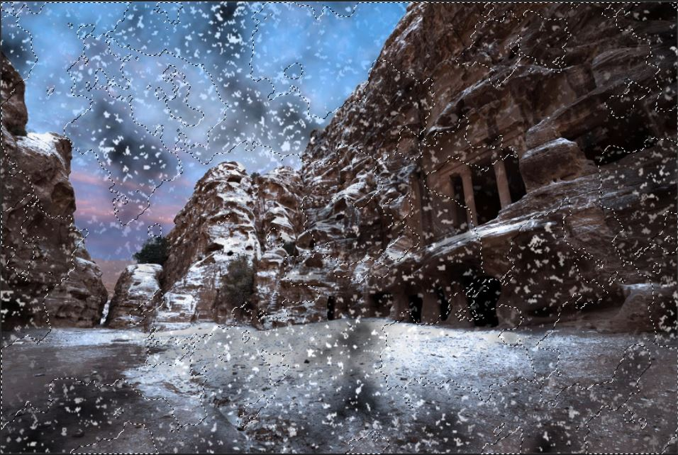 How To Make It Look Like Winter in Photoshop