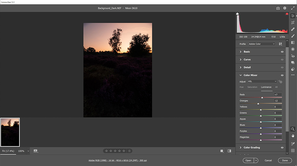 Combining Luminosity Masking With Focus Stacking In Photoshop