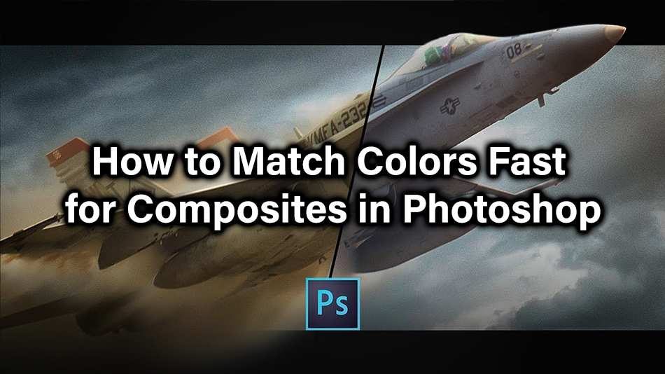 How to Match Colors Fast for Composites in Photoshop