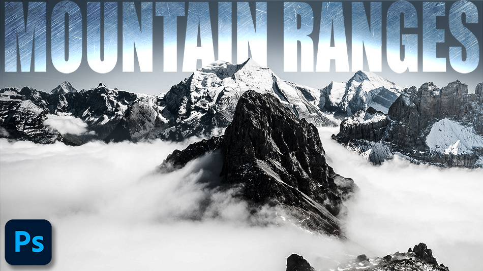 How To Enhance Mountain Ranges In Photoshop