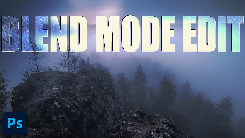 Combining Blend Modes in Photoshop
