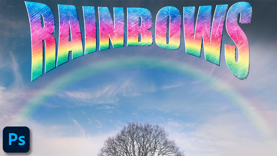 How to Add a Rainbow in Photoshop CC2021