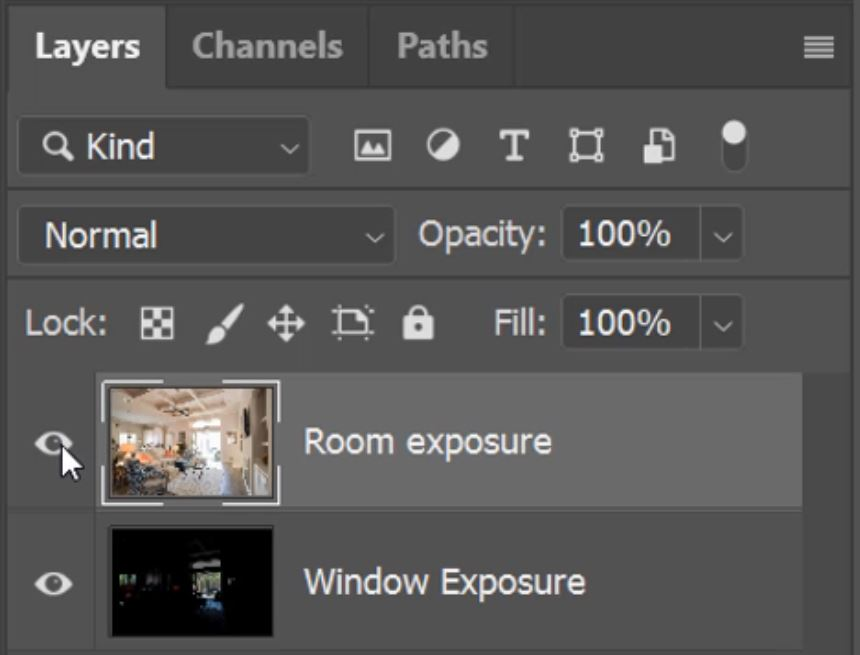 Real-Estate Window Pulls in Photoshop