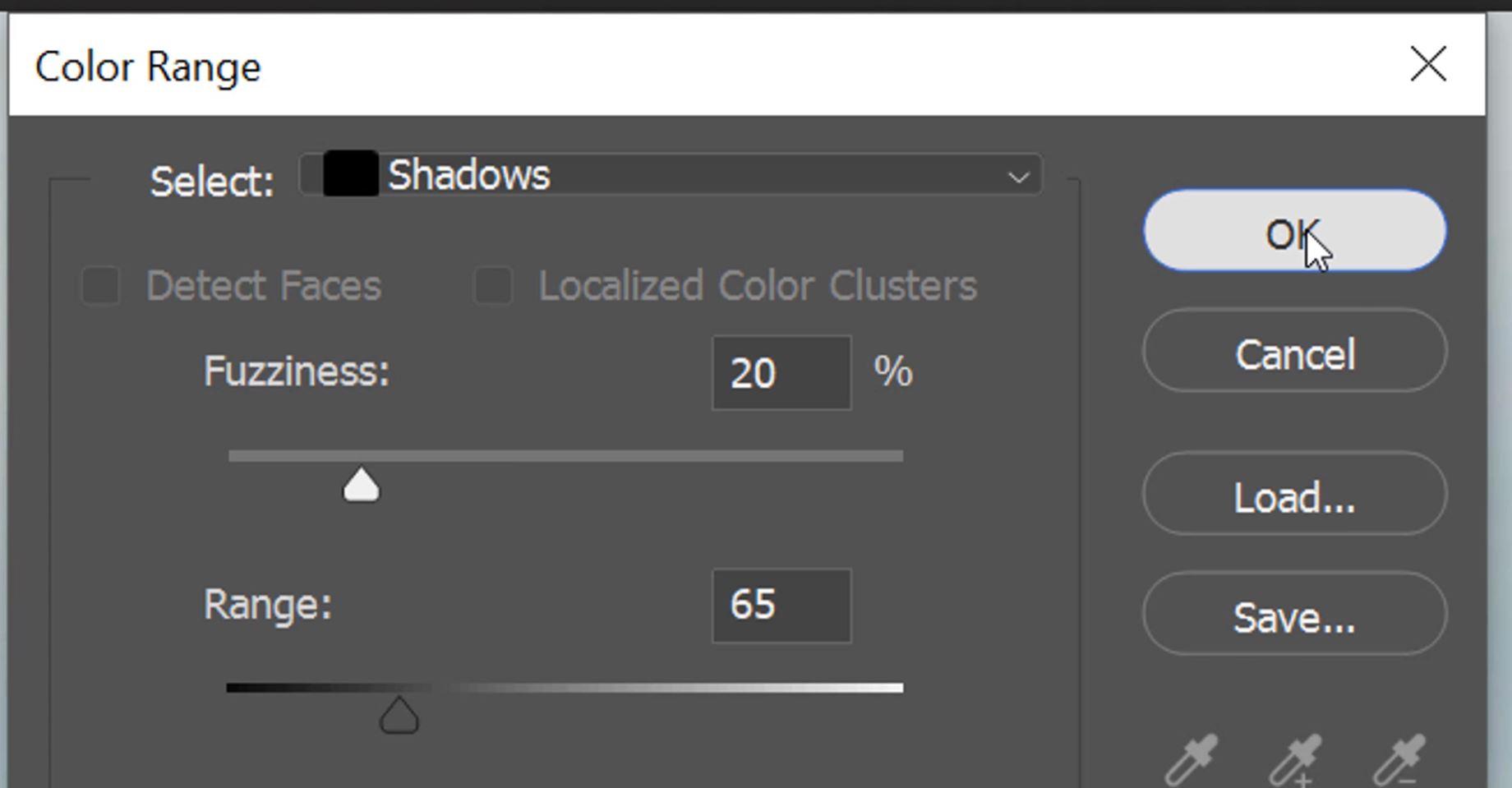 dodge shadows, burn shadows,