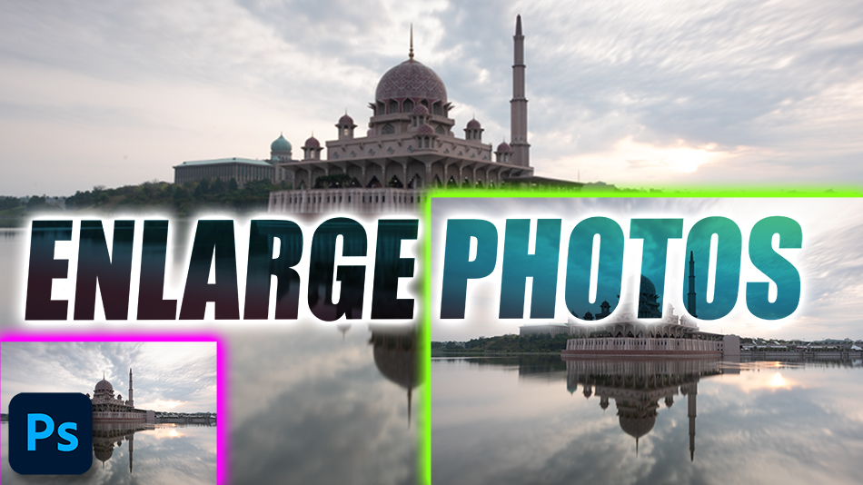 Enlarge your photo using Photoshop's new feature Super Resolution