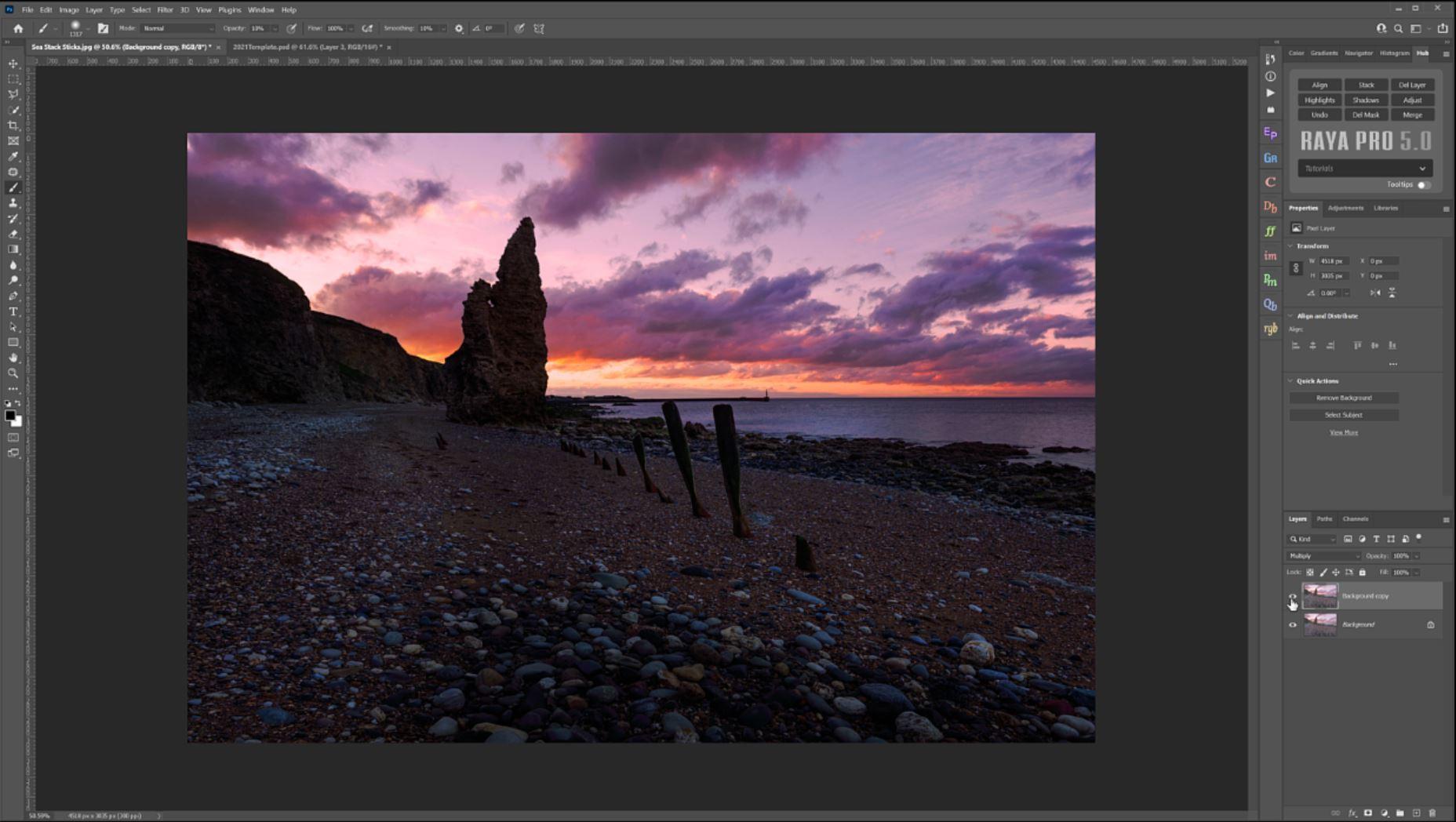 Landscape Photo Edit In Photoshop