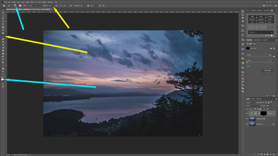 How To Fix a Strong Halo in Photoshop
