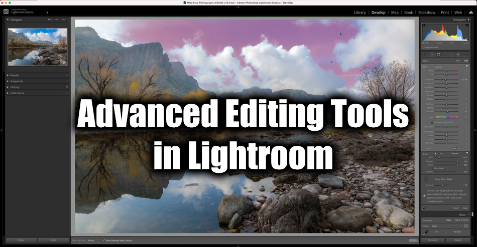 Advanced Editing Tools in Lightroom