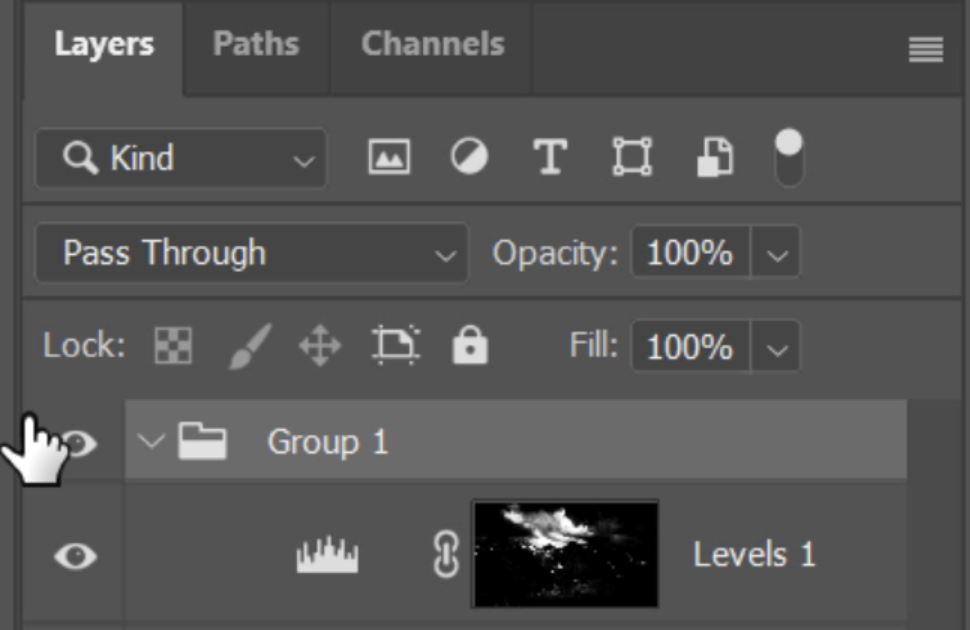 add atmosphere in photoshop