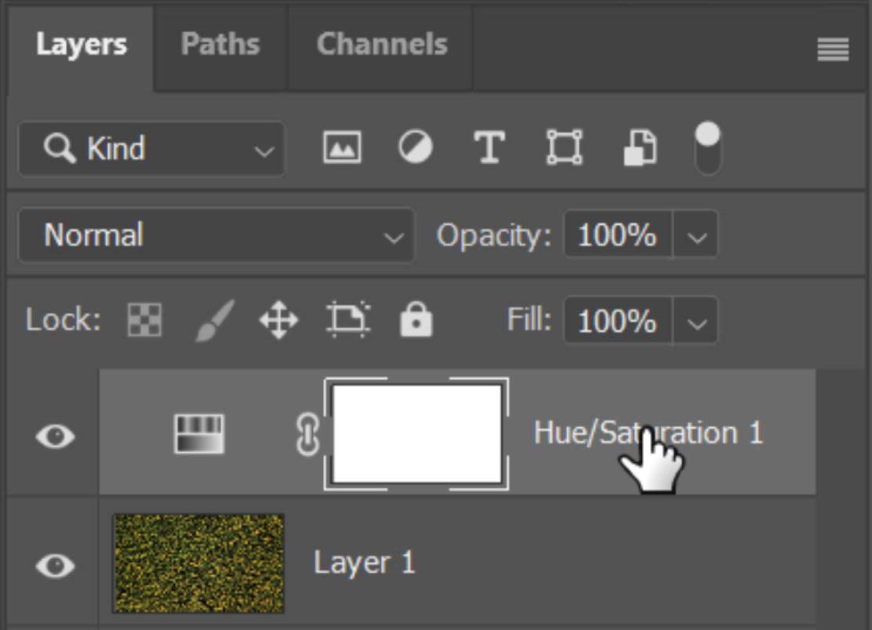 photoshop adjustment layer